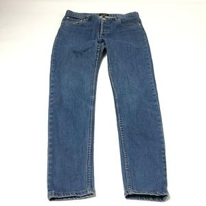 A.P.C Jeans Women's Jeans Cotton Straight Leg Blue